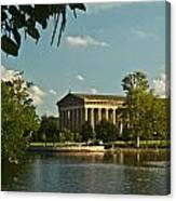 Parthenon At Nashville Tennessee 1 Canvas Print
