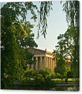 Parthenon At Nashville Tennessee 12 Canvas Print