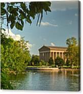 Parthenon At Nashville Tennessee 13 Canvas Print