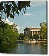 Parthenon At Nashville Tennessee 2 Canvas Print