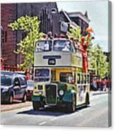 Party Bus Canvas Print