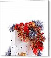 Party Decorations In A Bag Canvas Print