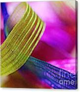 Party Ribbons Canvas Print
