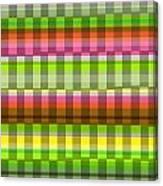 Party Stripe Canvas Print
