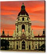 Pasadena Sunrise Canvas Print
