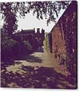 Passageway At Hampton Court Palace Canvas Print