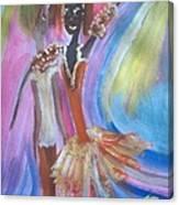 Passion Ballet Canvas Print