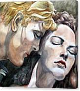 Passionate Embrace Canvas Print