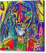 Pastel Man 16 Canvas Print