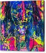 Pastel Man 17 Canvas Print