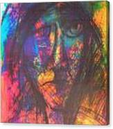 Pastel  Man 18 Canvas Print