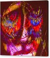 Pastel Man 20 Canvas Print