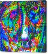 Pastel Man 21 Canvas Print