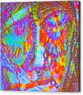 Pastel Man 22 Canvas Print