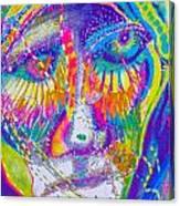 Pastel Man 23 Canvas Print