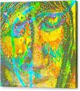 Pastel Man 27 Canvas Print