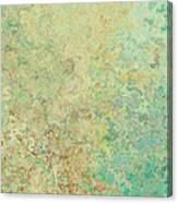 Pastle Green Stone Canvas Print