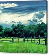 Pastoral Greenery Canvas Print