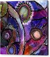 Patchwork Whimsey Canvas Print