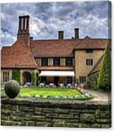 Patio Restaurant At Cecilienhof Palace Canvas Print
