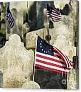 Patriot Cemetery Canvas Print