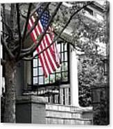 Patriot Porch Canvas Print