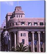 Paul Kruger Church Square Canvas Print