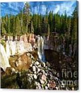Paulina Falls At Newberry Canvas Print