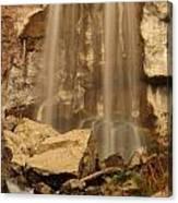 Paulina Falls Cascade Canvas Print