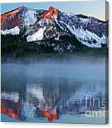 Paulina Peak Reflections Canvas Print