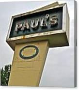 Paul's O Canvas Print