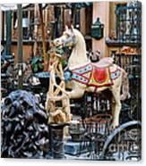 Pawn Shop In San Miguel Mexico 1991 Canvas Print