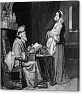 Pawning, 19th Century Canvas Print