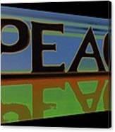 Peace-2 Canvas Print