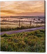 peace and quiet in the English coutryside Canvas Print