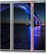 Peace Bridge 01 Triptych Series Canvas Print