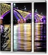 Peace Bridge 02 Triptych Series Canvas Print