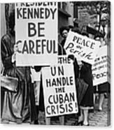 Peace Protest, 1962 Canvas Print