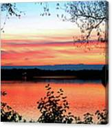 Peaceful Evening Canvas Print