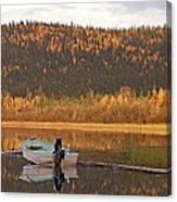 Peaceful Harding Lake Canvas Print
