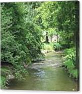 Peaceful Mountain Stream Canvas Print