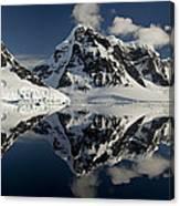 Peaks Along  Neumayer Channel Canvas Print