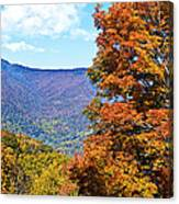 Peaks And Colors Canvas Print