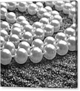Pearls And Sand Canvas Print