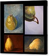 Pears The Series Canvas Print