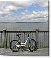 Pedal Pusher Canvas Print
