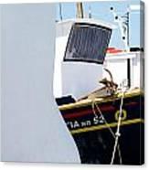 Peek-a-boat Canvas Print