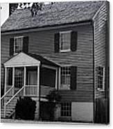 Peers House Appomattox County Court House Virginia Canvas Print