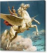 Pegasus The Winged Horse Canvas Print