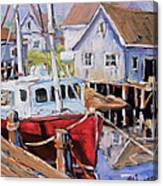 Peggy S Cove 02 By Prankearts Canvas Print
